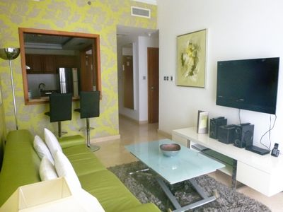 Photo for Serviced 1 bedroom apartment with Marina View