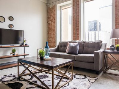 Photo for Contemporary Urban | Spacious 1BR @ Arts + Culture