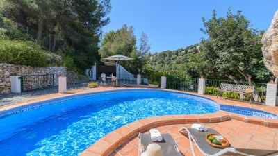 Photo for Spectacular villa in the middle of nature between Nerja and Frigiliana