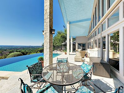 Photo for Stunning 3BR Rancho Pacifico w/ Hill Country Views - Infinity Pool, Hot  Tub
