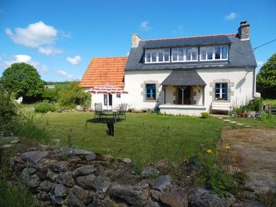 Photo for Peaceful Country Cottage near to  beautful coast and historic town of Morlaix.