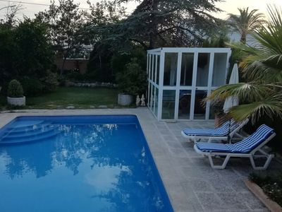 Photo for Charming Casita, Jacuzzi, Pool and Garden