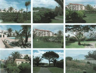 The residence, the swimming pool, some landscapes