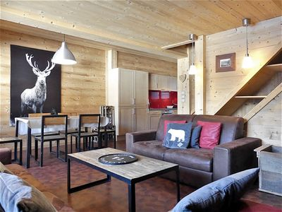 Photo for Noisettes 3 - Duplex for 6 people 3* nice view