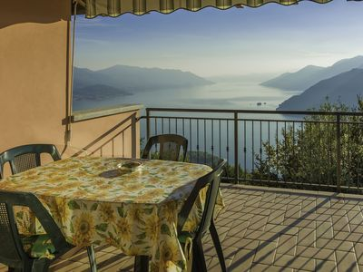 Photo for Penthouse overlooking Lake Maggiore