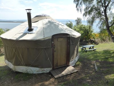 Photo for Cherry Yurt - One Bedroom Camping, Sleeps 4
