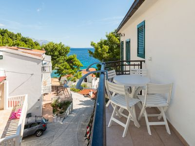 Photo for Family apartment just above the beach