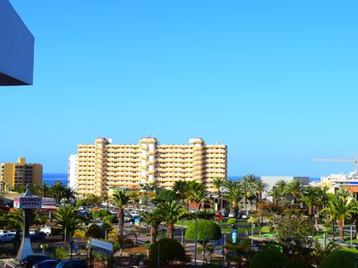 Photo for Sunny Summerland, ap. with city and ocean view