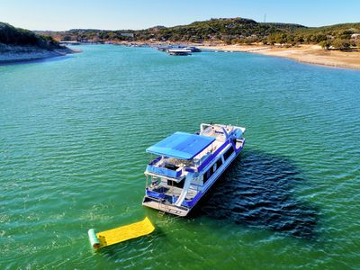 Photo for Margaritaville - 66' Houseboat on Lake Travis
