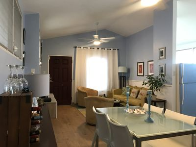 Photo for Spacious Two-bedroom Apartment Two Blocks from the Beach
