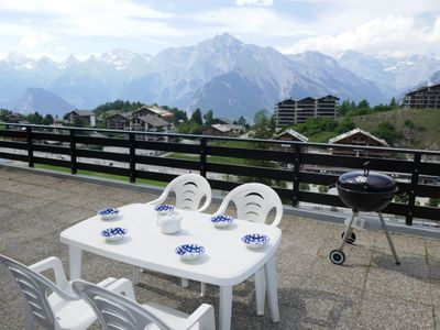 Photo for Apartment in the center of Nendaz with Internet, Lift, Parking, Terrace (42545)