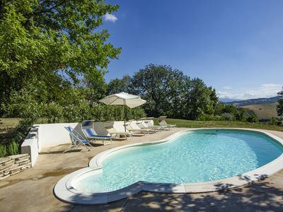 Photo for Delightful Holiday Home in Cossignano with Swimming Pool