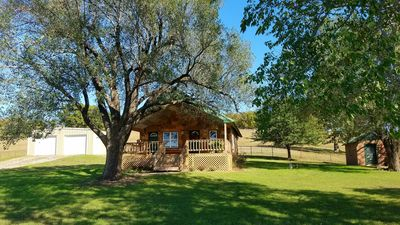 Photo for The Rock House Vacation Rental near Lake Tenkiller