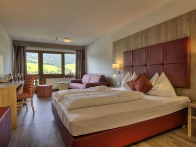 Photo for Double room on the lake side Summer - Ferienclub Bellevue am Walchsee