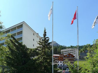 Photo for Apartment in the center of Davos with Lift, Parking, Internet, Washing machine (53027)
