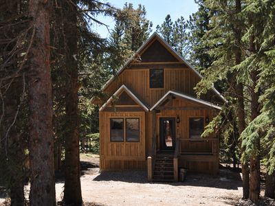 Photo for Whiskey Mountain - beautiful new cabin on Terry Peak Ski Area!