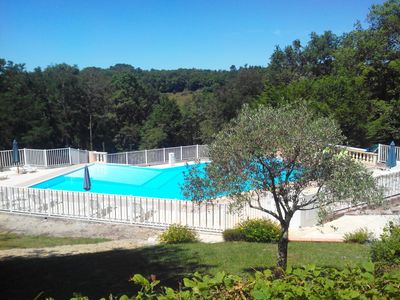 Photo for DUPLEX COTTAGE FACING THE SWIMMING POOL FOR 4 PEOPLE.