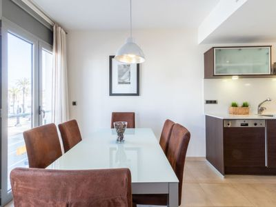 Photo for Apartment del Port 01 in Empuriabrava - 6 persons, 2 bedrooms