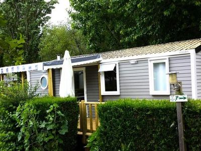 Photo for Camping Les Pins *** - Premium 4-Room Cottage 6 People