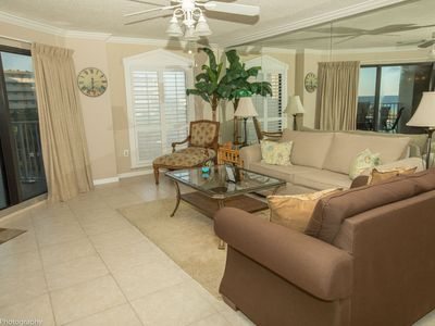 Photo for IR 318 is a Beautiful 2 BR Sunset Views with easy beach access with Washer Dryer over 1300 sf