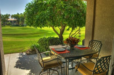 Patio - perfect for dining!