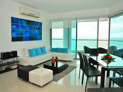 Photo for Modern 3 Bedroom Apartment with sea-beach view