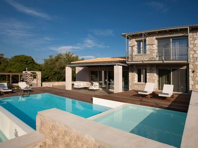 Photo for Aggelos Brand New Exclusive Villa with Private Pool (Agrikies Villas)