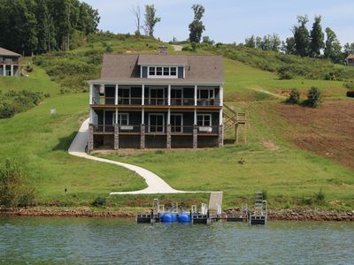 "Photo for ""J&J s Getaway"" brand new, high end, modern home with super easy lake access"