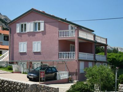 Photo for Studio flat with terrace Baška, Krk (AS-5450-b)