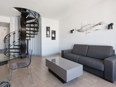 Photo for Cosy duplex apartment for 5 persons, with small terrace, close to Eiffel Tower