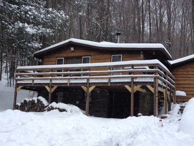 Photo for Cozy Catskill Cabin - Enjoy Nature At Its Best