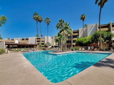 Photo for In the Heart of Old Town Scottsdale! Steps to the Heated Pool & Spa, 2 Master Suites, Fitness Room!