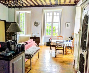 Photo for Welcoming apartment with stunning views of Medieval Sarlat