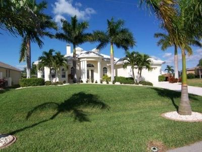 Photo for Villa Starlight - SW Cape Coral 3b/3ba/Den Elect Heated Pool/Spa Home, Fireplace, Gulf Access Canal,