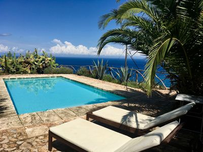 Photo for Rustic finca in a quiet location with pool and panoramic views of the sea and mountains