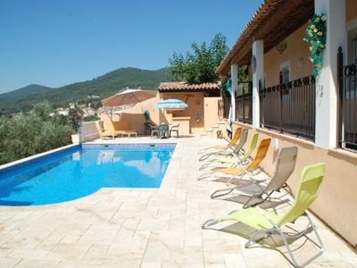 Photo for Homerez last minute deal - Amazing villa with swimming-pool