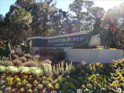 Palmetto Dunes Main Gate