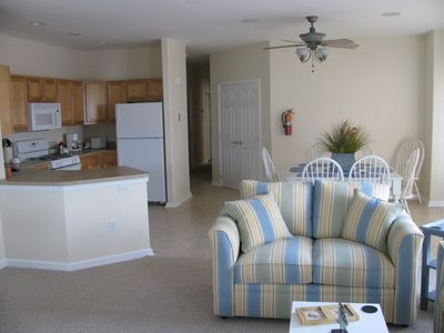 Photo for Beautiful Beach Block Condo 23rd St. - Rates flexible in June and September.