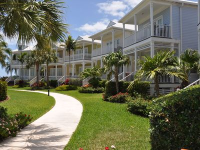 Photo for Direct Oceanfront Views In Anglers Reef, Islamorada.  Resort Pool, Dock, Beach