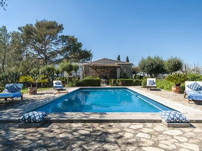 Photo for This 2-bedroom villa for up to 4 guests is located in Palma and has a private swimming pool and Wi-F