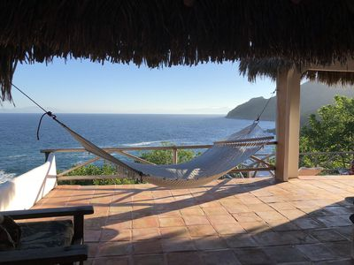 Photo for Private Oceanside Beach Retreat - Unplug and Relax