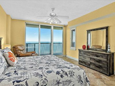 Photo for Direct Oceanfront Condo, 2 Master Suites, Views of Sunrise and Sunsets!