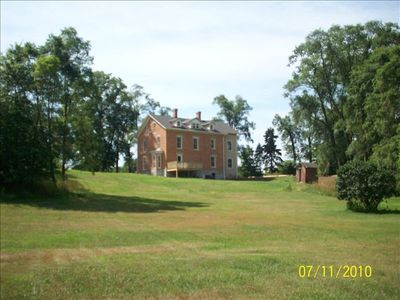 North elevation overlooking property.
