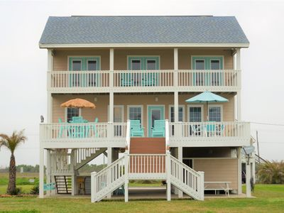 Photo for Gorgeous Beach Retreat, Ocean Views, Linens Included; Six Night Min. for Summer