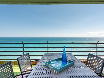 Photo for Loft apartment with stunning sea view