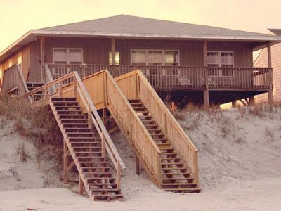 Photo for Beautiful Oceanfront 4 Bedroom Home - 50 Feet To The Beach