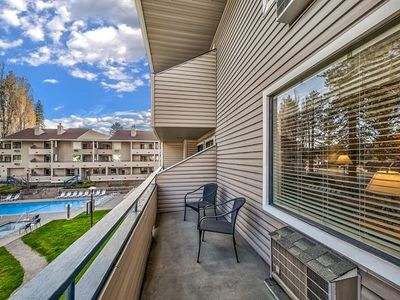 Photo for Poolside Condo Right By The Shores Of Lake Tahoe