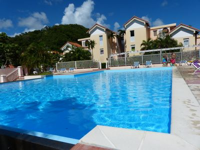 Photo for T2 apartment in Sainte Anne *** in a residence with pool and garden