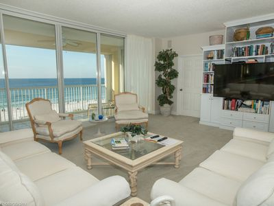Photo for Oceania 403 - 3 BR 3 Ba Gulf front - Sleeps 8