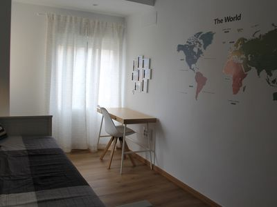 Photo for Fully renovated with Scandinavian design. Walk to center